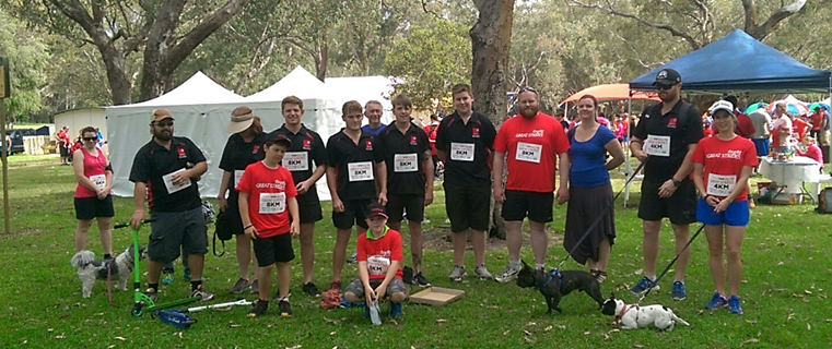 On the 2nd of November 2014 at Perry Lakes Reserve   4km or 8km walk/run to support Cystic Fibrosis.